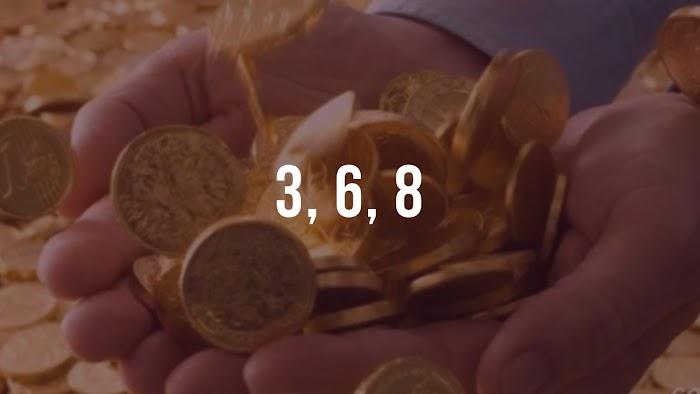 Цифры богатства увеличивают денежный капитал. Секреты богатой жизни