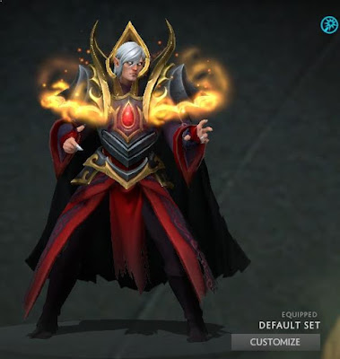 Invoker Trials Of The Blackguard Magus Dota 2 Mods