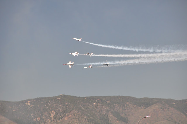 Thunderbirds US Air Force Academy graduation ceremony coloradoviews.filminspector.com