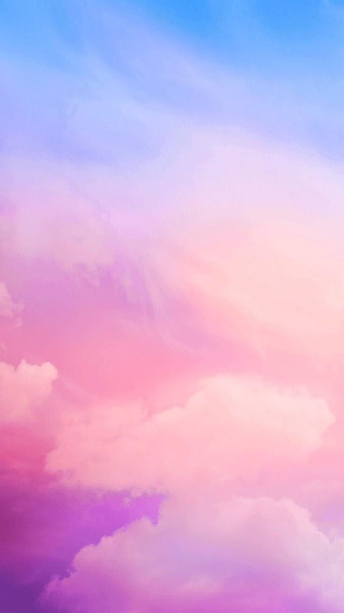 Lindo Céu Com Nuvens iPhone Wallpaper