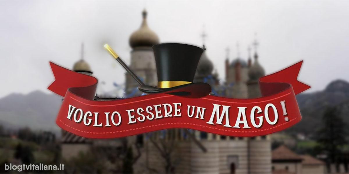 voglio essere un mago maggiordomo