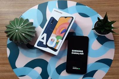 Samsung A01 Terbaru