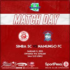 Simba SC VS Namungo FC (LIVE)
