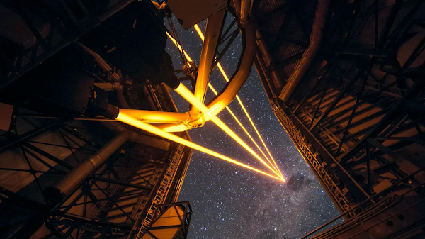 The Adaptive Optics of a Laser Guide (Death) Star