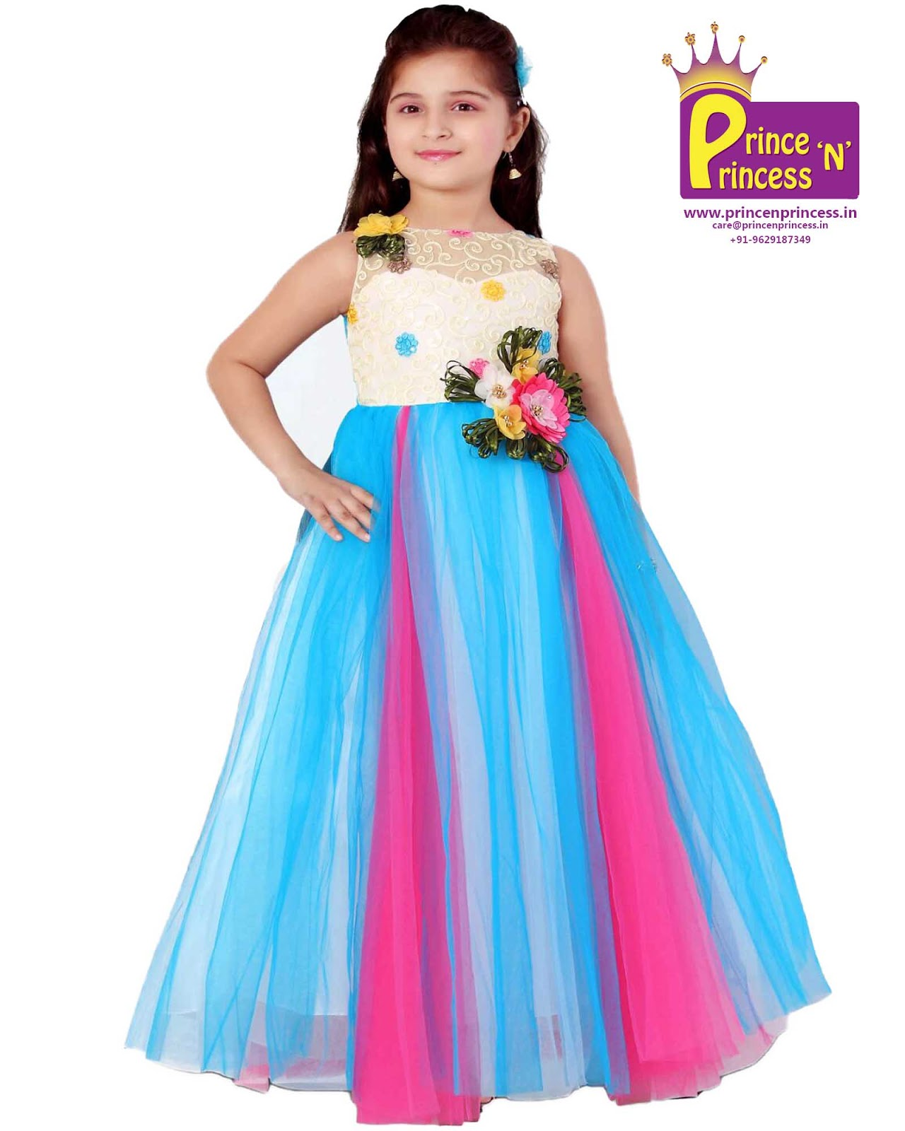 Kids Party Frock Gown