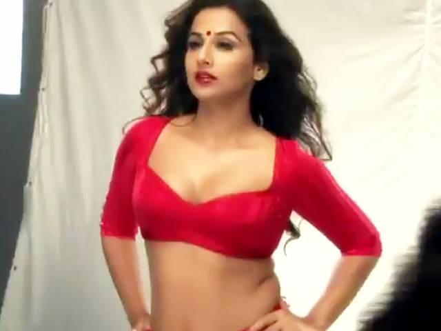 Vidya Balan Sexy Open