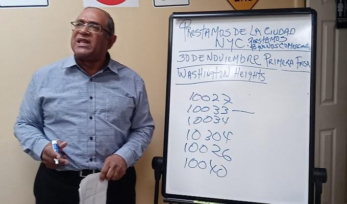 Comerciantes dominicanos enfrentan al alcalde por exclusión y discriminación en préstamos por pandemia