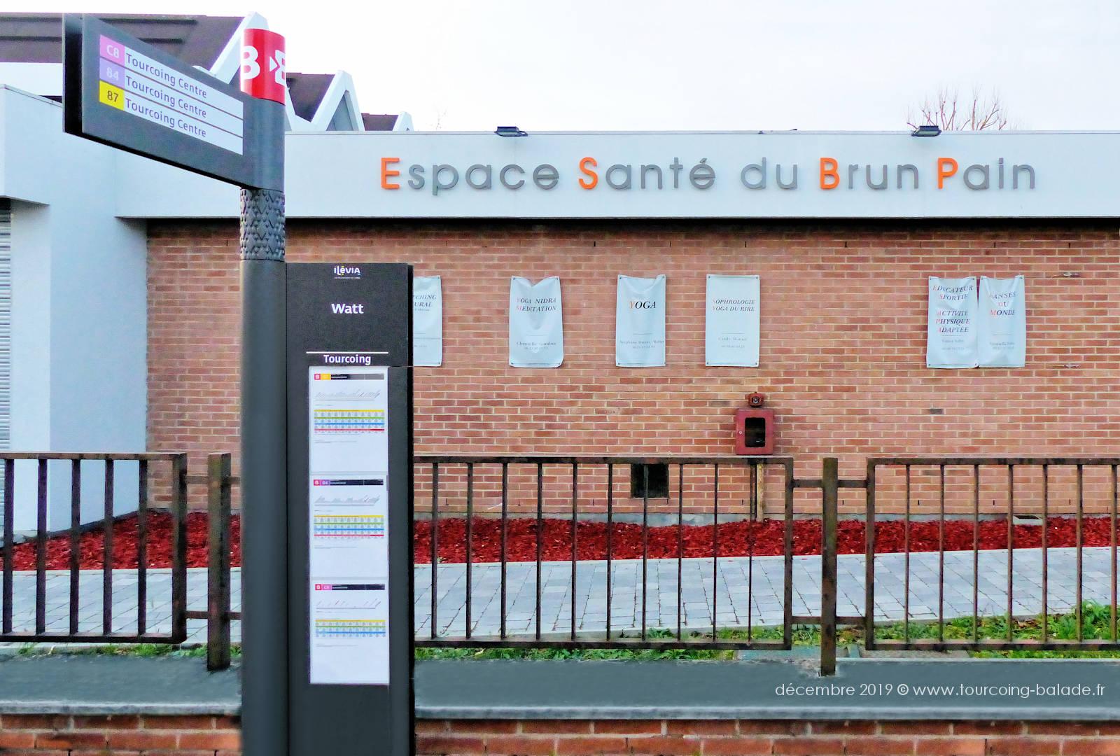 """Tourcoing - Arrêt de Bus """"Watt"""""""