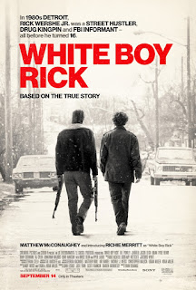 DETROIT GIVEAWAY: 15 admit-two passes for White Boy Rick, 9/10 at MJR Troy