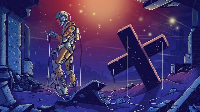 Killer robots illustration Glenn Harvey