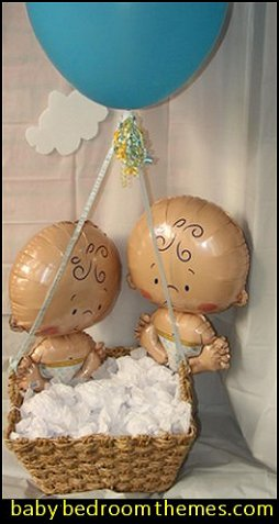Baby Shape Foil Balloons baby shower balloon decorations