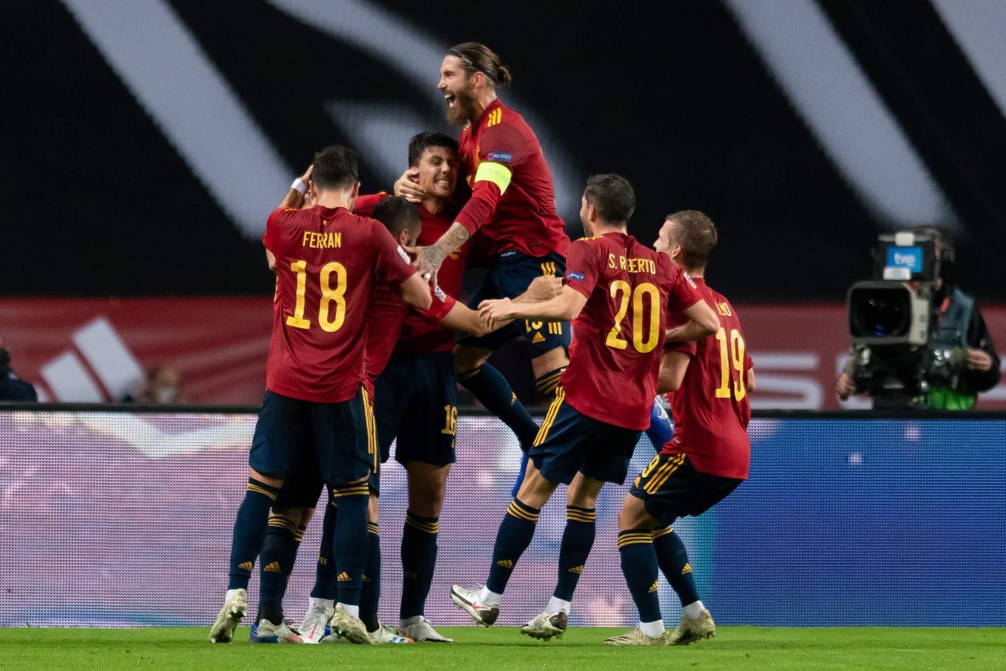 España Alemania UEFA Nations League