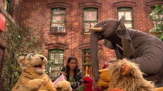 Leela, Horatio, Nila, Sesame Street Episode 4308 Don't Wake the Baby