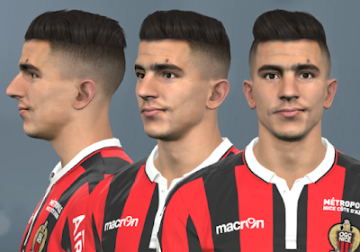 PES 2017 Faces Youcef Atal by WER Facemaker