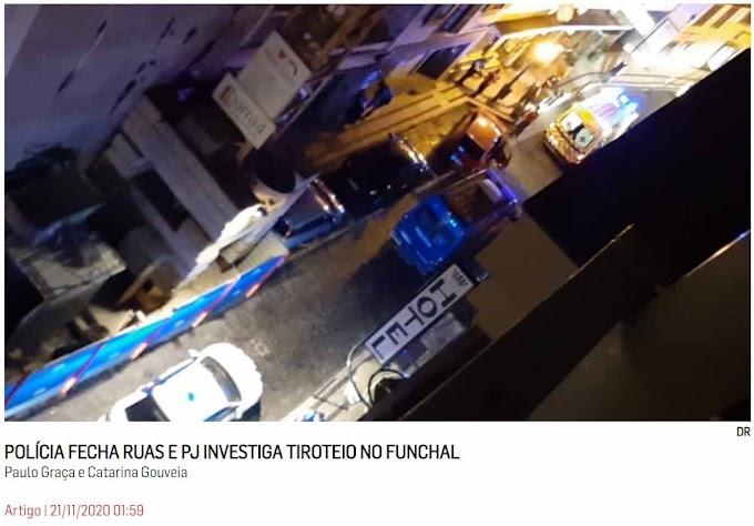 Tiroteio com 1 morto no Funchal
