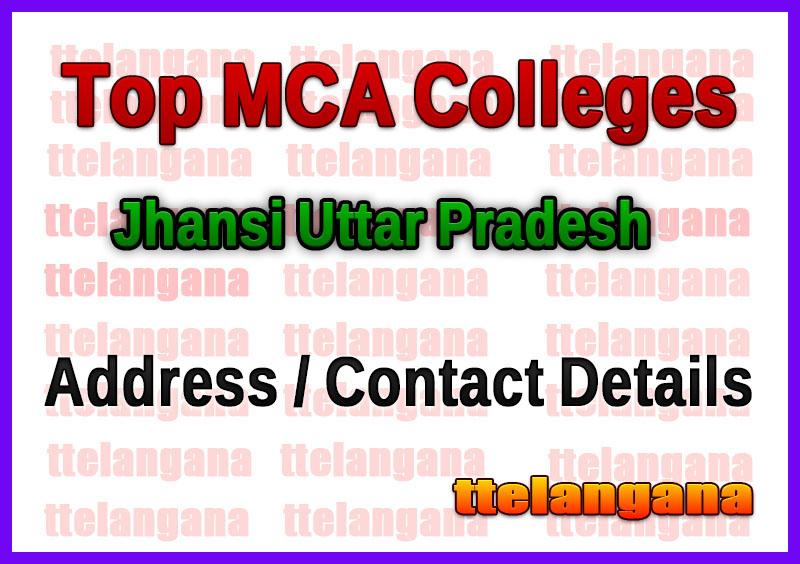 Top MCA Colleges in Jhansi Uttar Pradesh