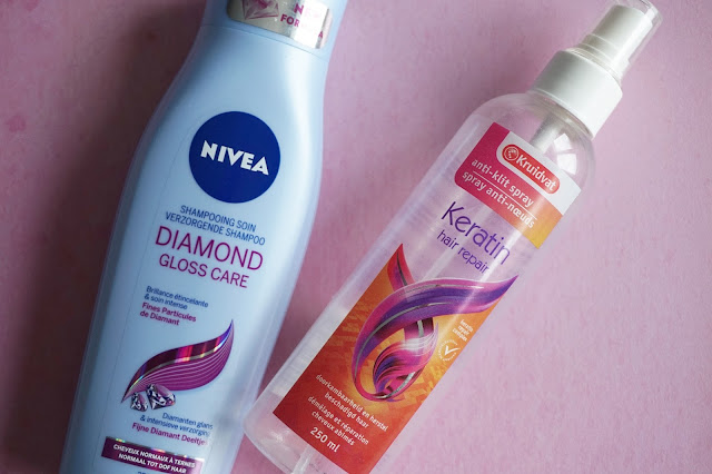 nivea diamond gloss care shampoo kruidvat anti klit spray
