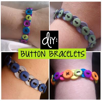 Dabble   : DIY: Button Bracelets