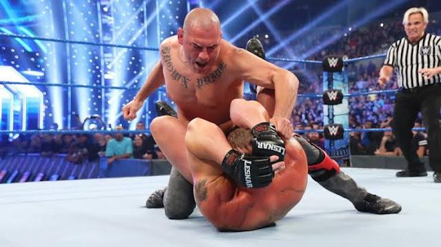 Polêmica em torno de Cain Velasquez e WWE
