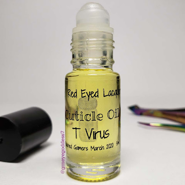 Red Eyed Lacquer Cuticle Oil