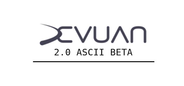 Devuan 2.0 ASCII Beta banner