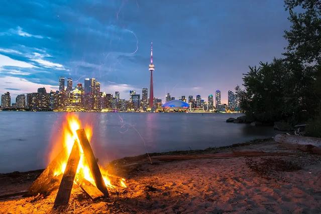 The small Toronto Islands