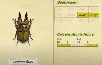 Cara Menangkap Golden Stag di Animal Crossing New Horizons-2