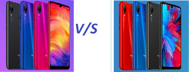 Redmi Note 7 Pro V/s Redmi Note 7 comparison