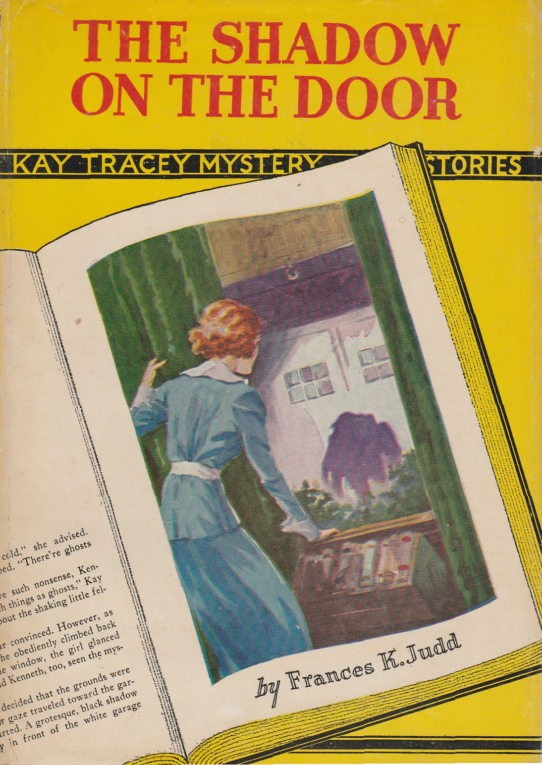 In Kay Tracey #4, The Shadow On The Door, Kay Investigates Peter Stannovi,  Whom She Suspects Is Defrauding Wealthy Mrs. Van Hutton. Stannovi Is Also  Engaged ...