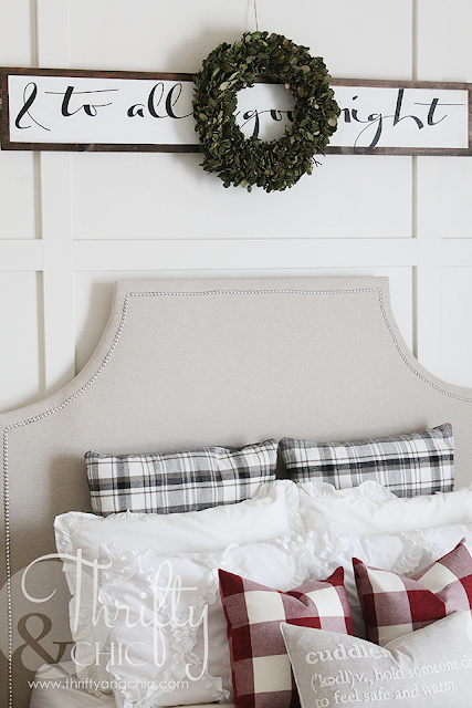 DIY wood Christmas sign -make this sign without stencils or calligraphy!