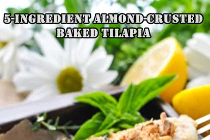 5-Ingredient Almond-Crusted Baked Tilapia