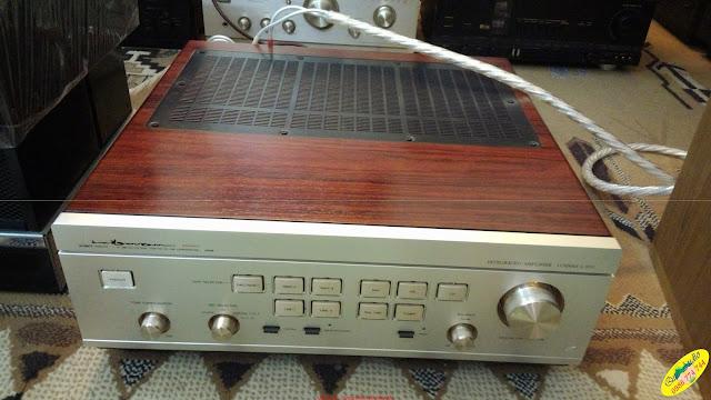 Amply Luxman, model: 570 nguyên bản