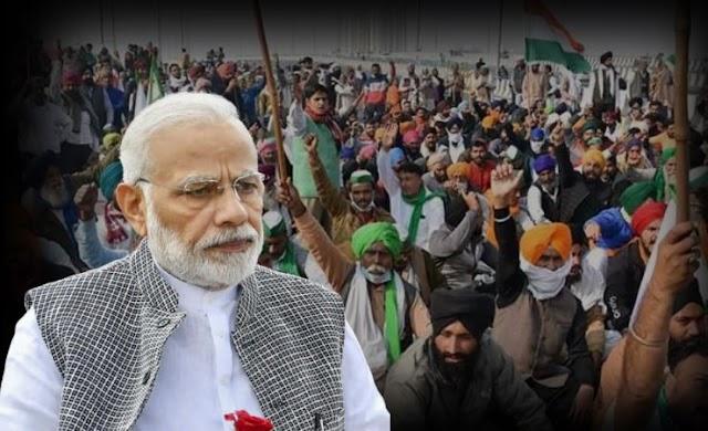 किसान आंदोलन ने पकड़ी रफ़्तार, आज मोदी जी किसानो से करेगें मन की बात