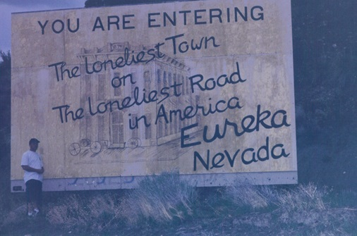 Eureka, Nevada... the year 2000 return