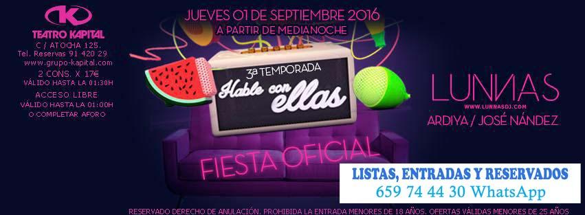 Discoteca kapital madrid 659 744 430 whatsapp discotecas for Kapital jueves gratis