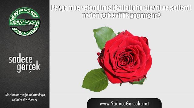 Peygamber efendimiz neden çok evlilik yapmıştır?