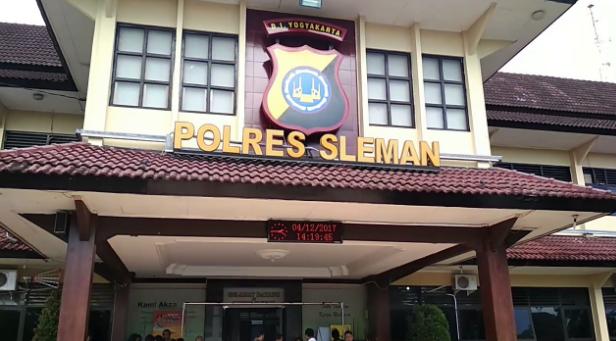 Lokasi, Alamat Polres Sleman Yogyakarta via Google Maps
