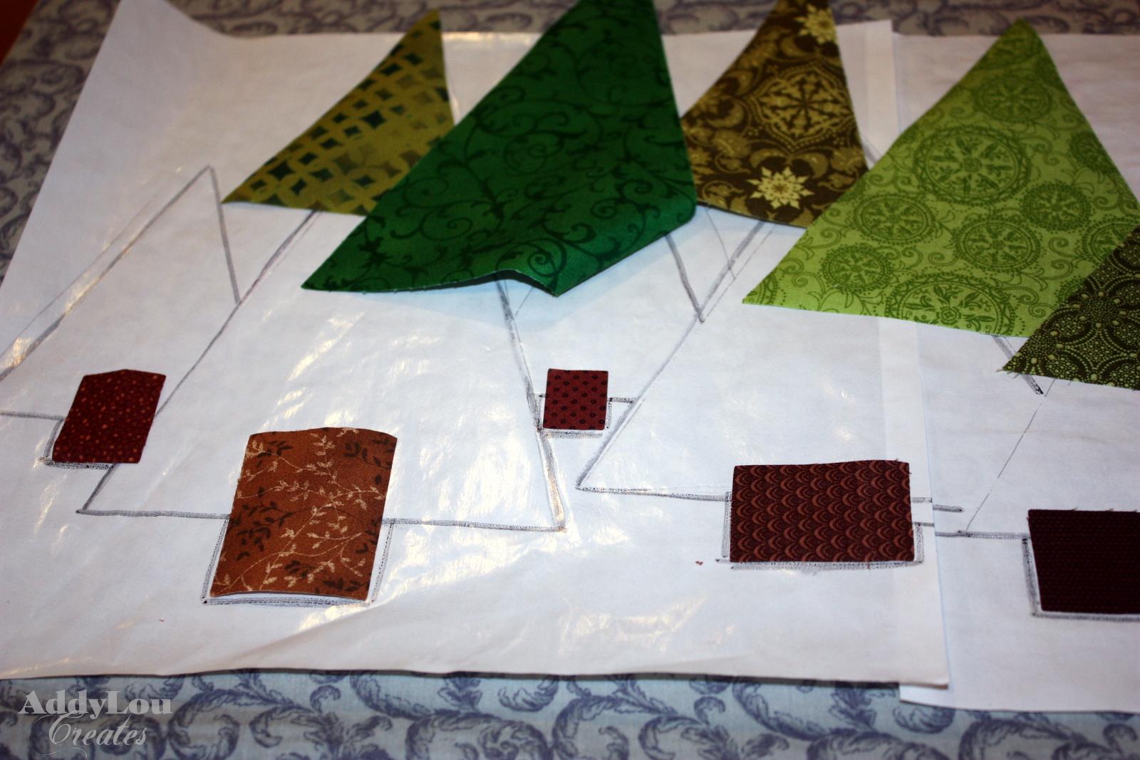 Addy Lou Creates: Handmade Christmas Cheer {Tree Table