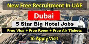 Required Hotels Staff Concierge Agent, Receptionist (Arabic Speaker), Room Attendant, Bellman, Housekeeping Supervisor For H&H Investment and Development LLC Dubai, UAE