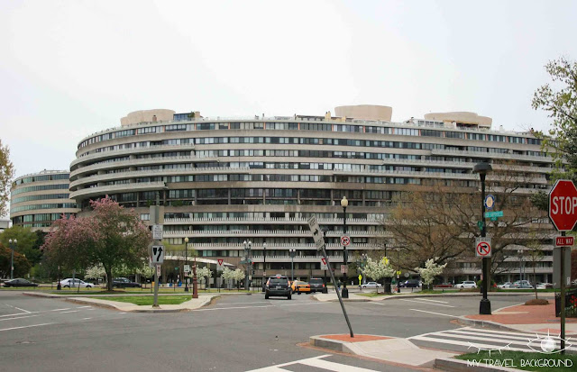 My Travel Background : 12 lieux à visiter à Washington D.C. - Watergate Complex