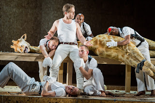 ENO: Julius Caesar, Lawrence Zazzo and Fabulous Beast (c) Robert Workman