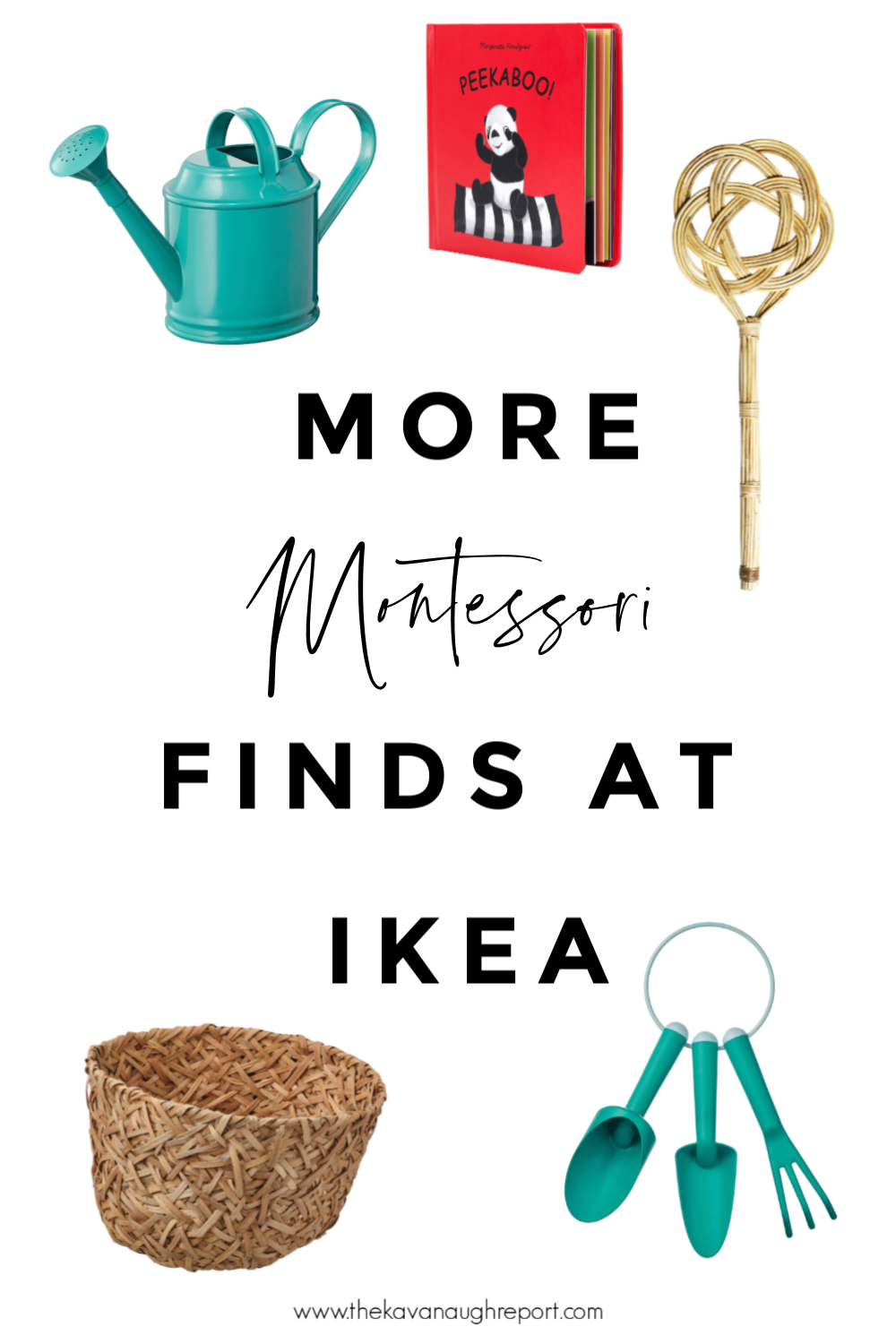 Montessori friendly finds for children and homes from IKEA.