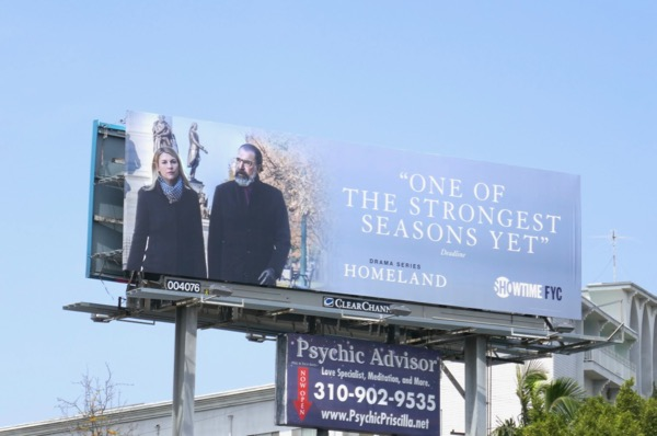Homeland season 7 Emmy consideration billboard