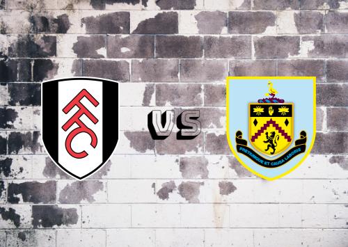 Fulham vs Burnley  Resumen