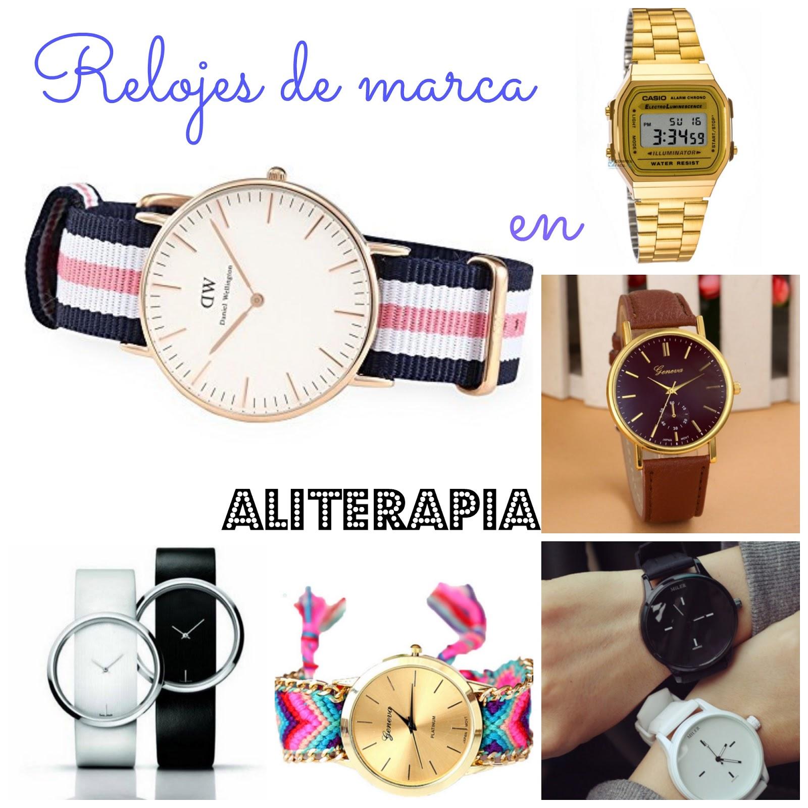 72b9af4c55d4 Aliterapia  Relojes de marca en Aliexpress!!
