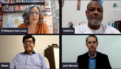 Live da revisão do Plano Diretor de Maringá. Café com Jornalista