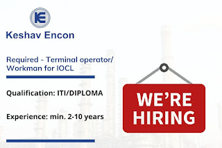 ITI and Diploma Holders Recruitment For Terminal Operator/ Workman for IOCL Project  Kavaratti & Minicoy Depots