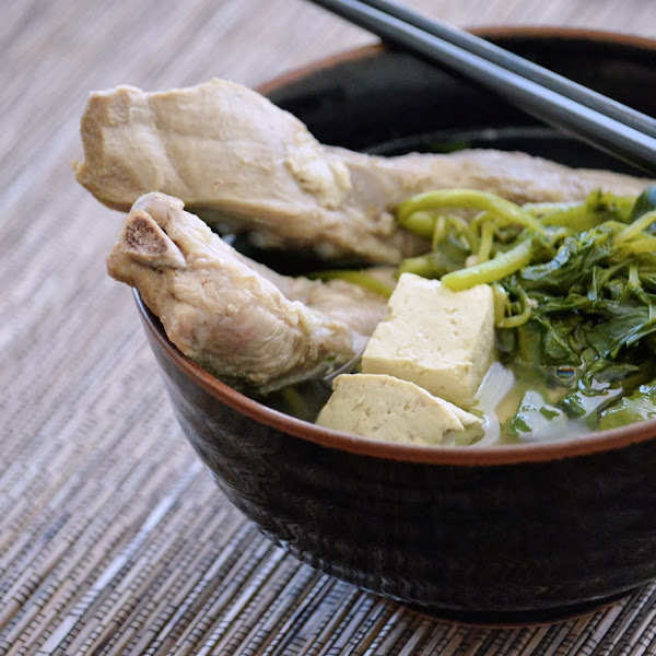 Watercress and Pork Rib Soup