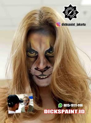 face painting simba jakarta