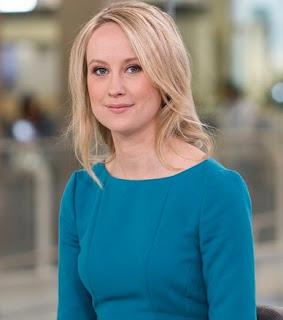 English broadcast journalist Sophy Ridge